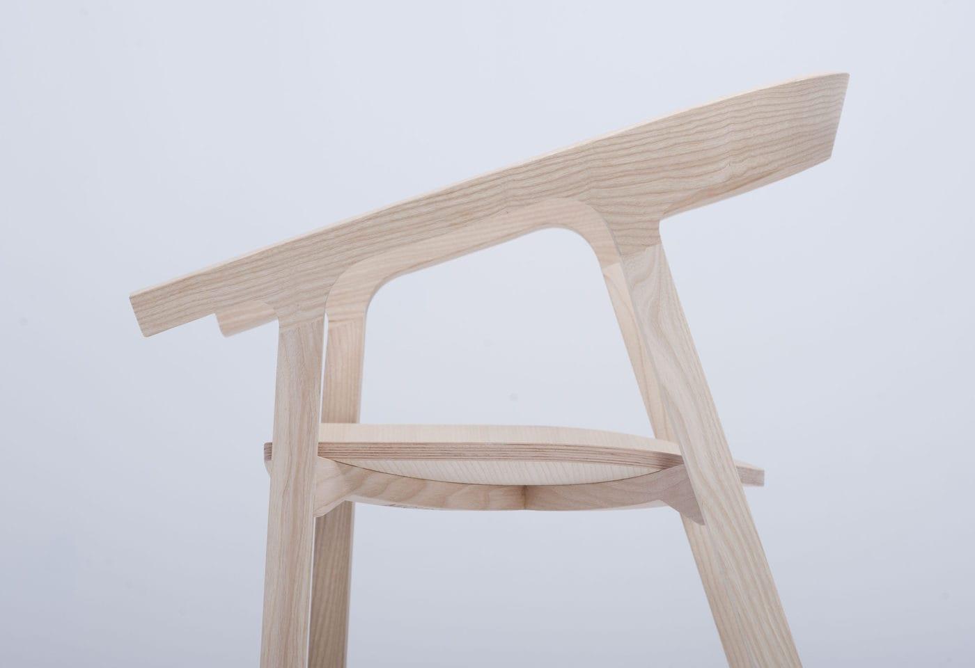 Mc1 He Said Chair By Studio Nitzan Cohen For Mattiazzi