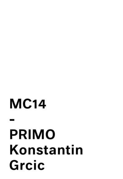 MC14 - Primo Collection By Konstantin Grcic For Mattiazzi logo