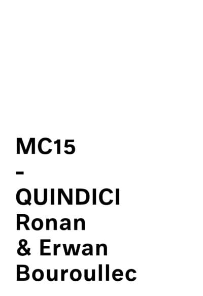 MC15 - Quindici Lounge By Ronan & Erwan Bouroullec For Mattiazzi logo